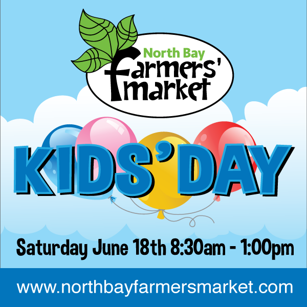 KIDS' DAY, Saturday June 18th Tons of Fun!