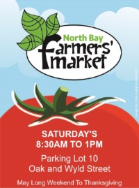 Saturday Summer Market @ Parking Lot 10 | North Bay | Ontario | Canada