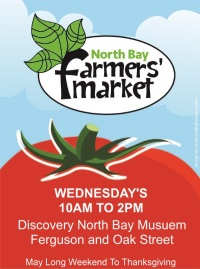 Wednesday Summer Market @ Discovery North Bay Museum | North Bay | Ontario | Canada